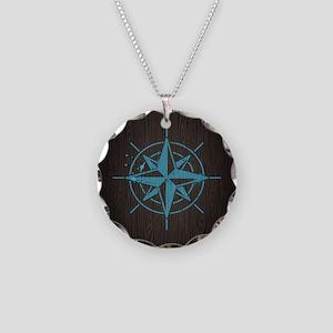 Nautical Necklace Circle Charm