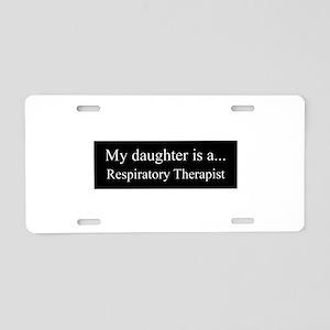 Daughter - Respitory Therapist Aluminum License Pl