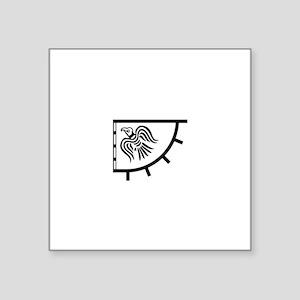 The Raven Banner Sticker