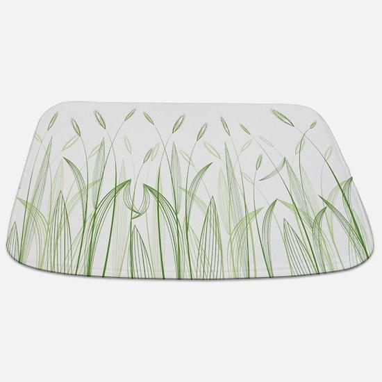 Delicate Grasses Bathmat