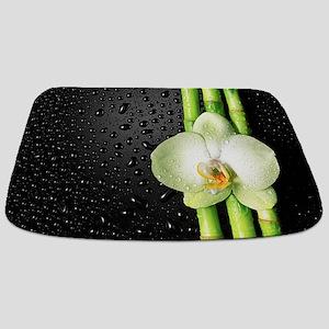 Bamboo Orchid Bathmat