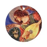 Angel (3) & Cavalier (BT) Ornament (Round)