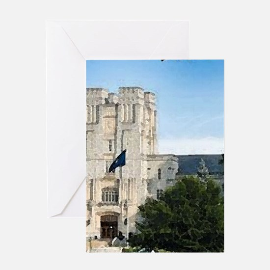 Virginia Tech Campus Greeting Cards