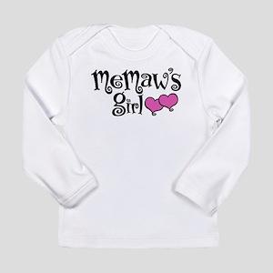 MeMaw's Girl Long Sleeve Infant T-Shirt