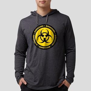 Yellow & Black Biohazard Long Sleeve T-Shirt