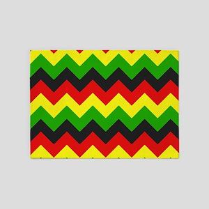 Reggae Chevron 5'x7'Area Rug