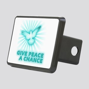 Give Peace a Chance Rectangular Hitch Cover