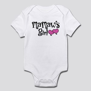 MaMaw's Girl Baby Light Bodysuit