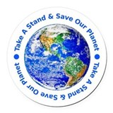 Environmental protection Round Car Magnets