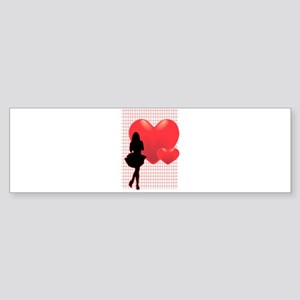 Romance Girl Bumper Sticker