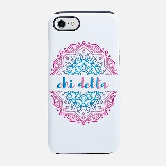 Chi Delta Mandala iPhone 7 Tough Case