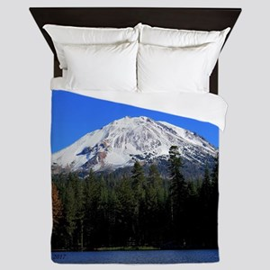 Mt. Lassen with Snow Queen Duvet
