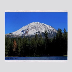 Mt. Lassen with Snow Throw Blanket