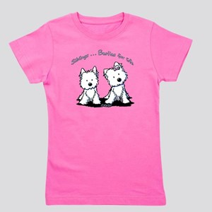 Westie Siblings Girl's Tee