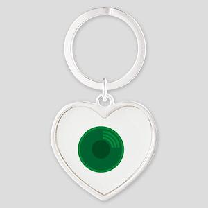 Prospector's Gold Pan Heart Keychain