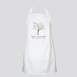 Laugh as much as you breathe Apron