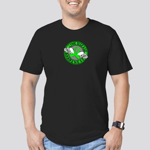 Lyme Disease Awareness Men's Fitted T-Shirt (dark)