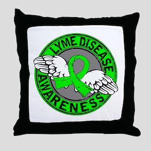 Lyme Disease Awareness 14 Throw Pillow