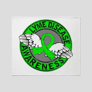 Lyme Disease Awareness 14 Throw Blanket