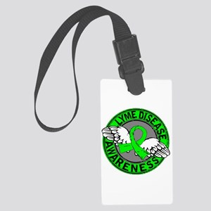 Lyme Disease Awareness 14 Large Luggage Tag