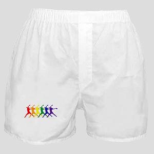 Fastpitch Pitcher Rainbow Bevel Boxer Shorts