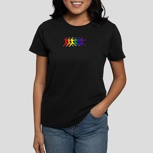 Fastpitch Pitcher Rainbow Bevel T-Shirt