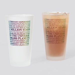A thought experiment Drinking Glass