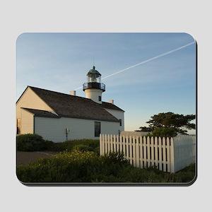 point loma lighthouse Mousepad
