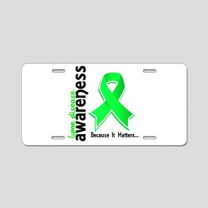 Lyme Disease Awareness 5 Aluminum License Plate