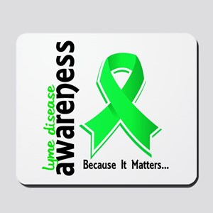 Lyme Disease Awareness 5 Mousepad