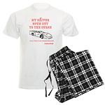 My Driver Spun Out Men's Light Pajamas