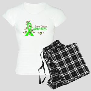 Lyme Disease Awareness 6 Women's Light Pajamas