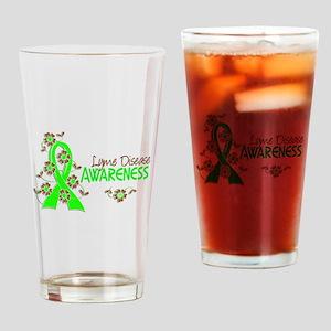 Lyme Disease Awareness 6 Drinking Glass