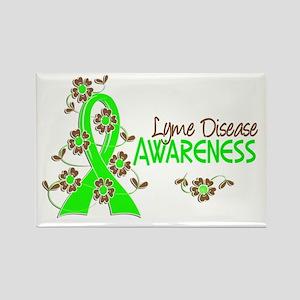 Lyme Disease Awareness 6 Rectangle Magnet