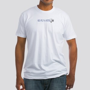 Go Fly A Kite- Kiteboarding Fitted T-Shirt