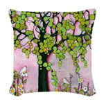 Day Dreaming Woven Throw Pillow