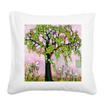 Day Dreaming Square Canvas Pillow