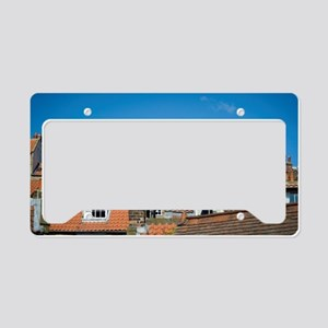 Traditional cottage roofs License Plate Holder