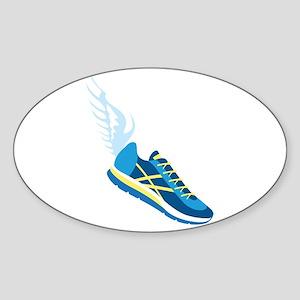 Running Shoe Wing Sticker