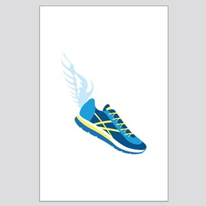 Running Shoe Wing Posters