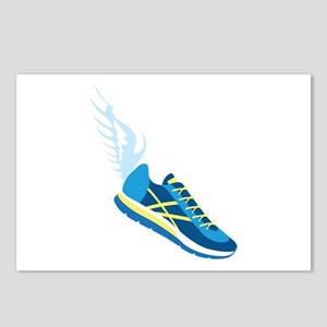 Running Shoe Wing Postcards (Package of 8)
