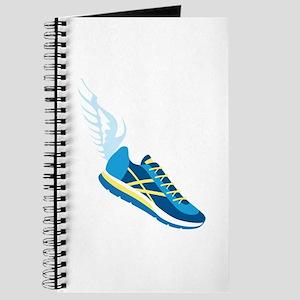 Running Shoe Wing Journal