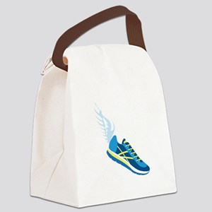 Running Shoe Wing Canvas Lunch Bag