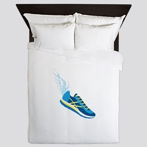 Running Shoe Wing Queen Duvet