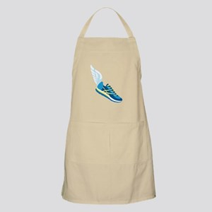 Running Shoe Wing Apron