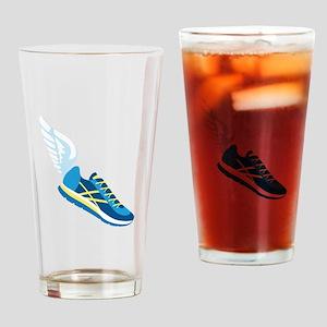 Running Shoe Wing Drinking Glass