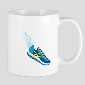 Running Shoe Wing Mugs