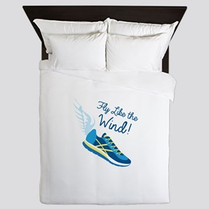 Fly Like the Wind Queen Duvet