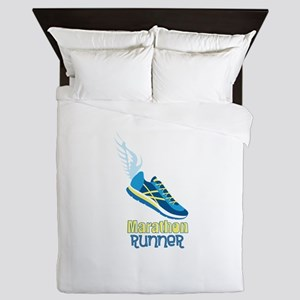 Marathon Runner Queen Duvet