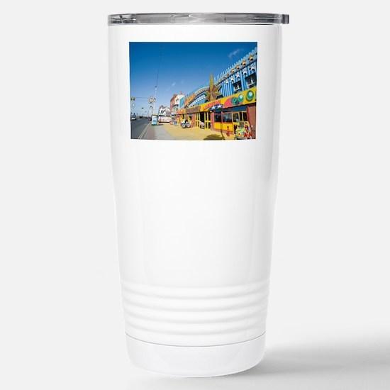 blackpool amusements Stainless Steel Travel Mug